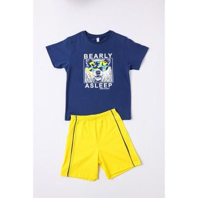 Σετ πυτζάμες αγόρι DREAMS 212708 μπλε