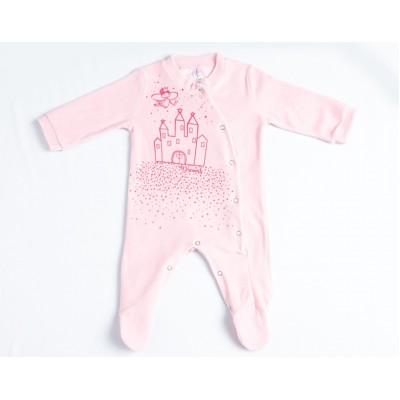 Φορμάκι bebe βελουτέ DREAMS 217003 ροζ