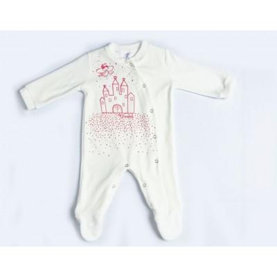 Φορμάκι bebe βελουτέ DREAMS 217003 λευκό
