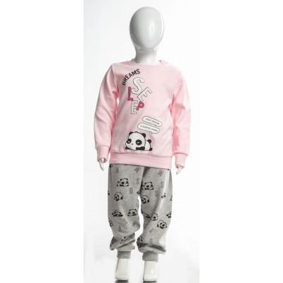 Σετ πυτζάμες για κορίτσι DREAMS 217107 ροζ