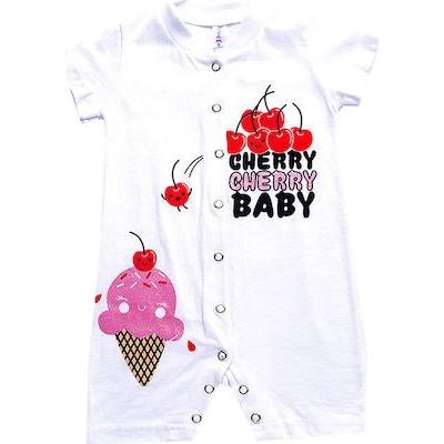 Φορμακι bebe κοριτσι κοντό μανικι 100%βαμβάκι DREAMS 98211 λευκο