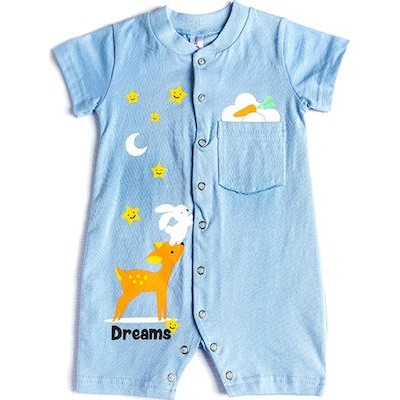 Φορμακι bebe αγόρι κοντό μανικι 100%βαμβάκι 98103 DREAMS σιελ