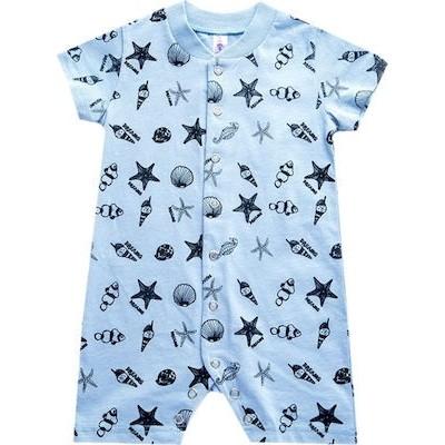 Φορμακι bebe αγόρι κοντό μανικι 100%βαμβάκι DREAMS 98152 σιελ