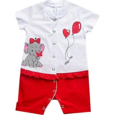 Φορμακι bebe κορίτσι DREAMS 98210 λευκό κοκκινο