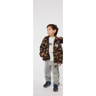 Σετ 3τμχ φόρμα για αγόρι HASHTAG 215840 παραλλαγής/γκρί