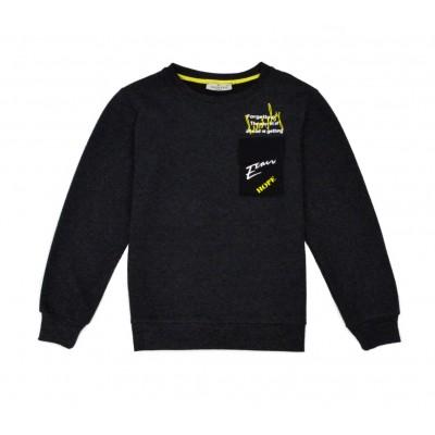Μπλούζα για αγόρι HASHTAG 215731 γκρί σκούρο