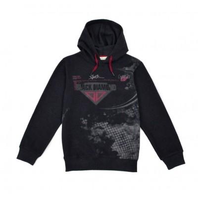 Μπλούζα για αγόρι με κουκούλα HASHTAG 215730 μαύρο