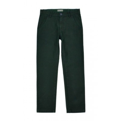 Παντελόνι καπαρντίνα για αγόρι HASHTAG χακί 215715