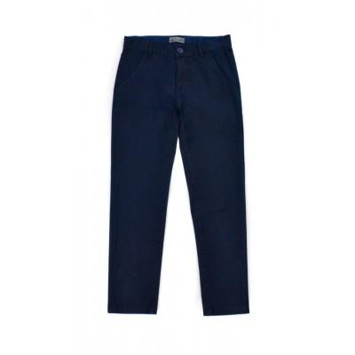 Παντελόνι καπαρντίνα για αγόρι HASHTAG μπλέ 215715