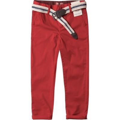Παντελόνι καπαρτινα αγόρι, καλοκαίρι hashtag 202714 κοκκινο
