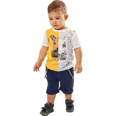 Σετ αγόρι HASHTAG 202617 κίτρινο-μπλε