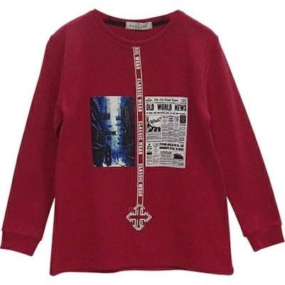 Μπλουζα αγόρι μακρύ μανικι χειμώνας hashtag 203758 κοκκινο