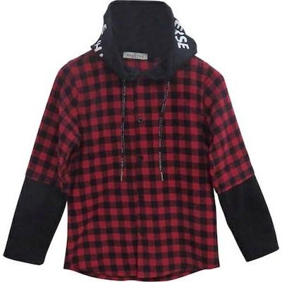 Πουκάμισο αγόρι κάρω χειμώνας hashtag 199740 κοκκινο-μαυρο