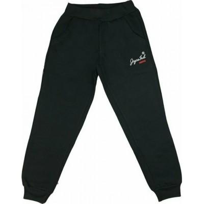 Παντελόνι φόρμας φούτερ 200140 Joyce μαύρο