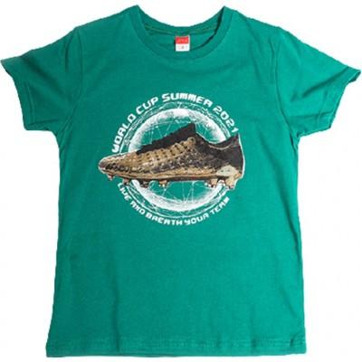 Μπλούζα αγόρι μακό κοντό μανίκι JOYCE 211700 πράσινο
