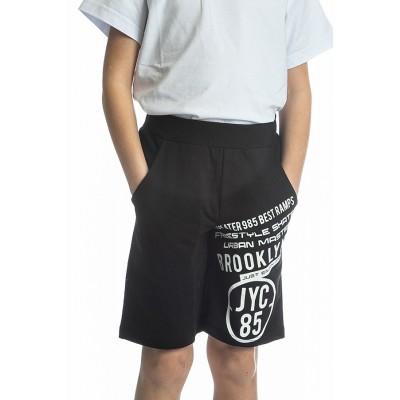 Βερμούδα μακό αγόρι JOYCE 211794 μαύρο
