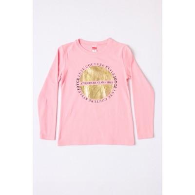 Μπλούζα μακρύ μανίκι για χειμώνα JOYCE 216553 ροζ