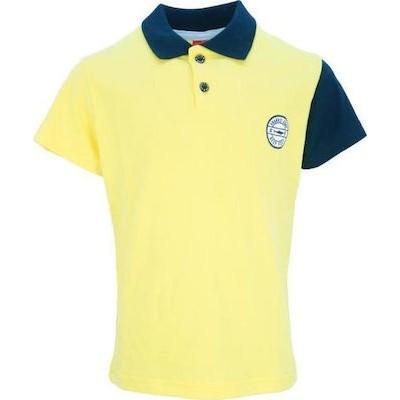 Μπλούζα αγόρι μακό με γιακά JOYCE 201285 κίτρινη