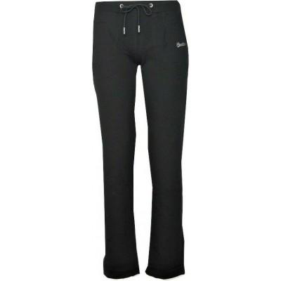 Παντελόνι φόρμας φούτερ γυαναικείο με κορδόνια στη μέση  PACO & CO μαύρο 200207