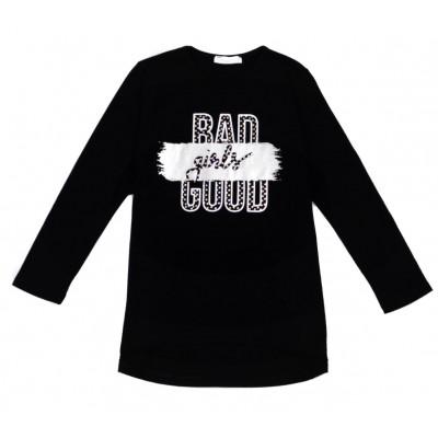 Μπλούζα για κορίτσι ΕΒΙΤΑ 215112 μαύρο