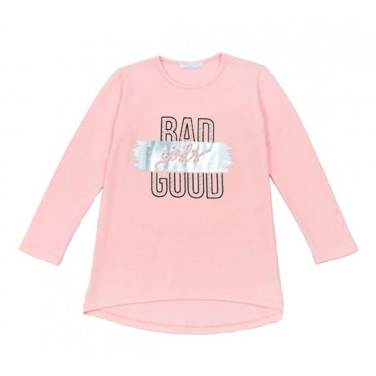 Μπλούζα για κορίτσι ΕΒΙΤΑ 215112 σομόν