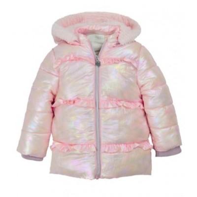 Μπουφάν για κορίτσι ΕΒΙΤΑ 215247 ροζ