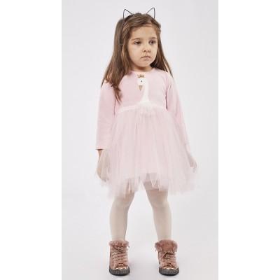 Φόρεμα ΕΒΙΤΑ ροζ 215534