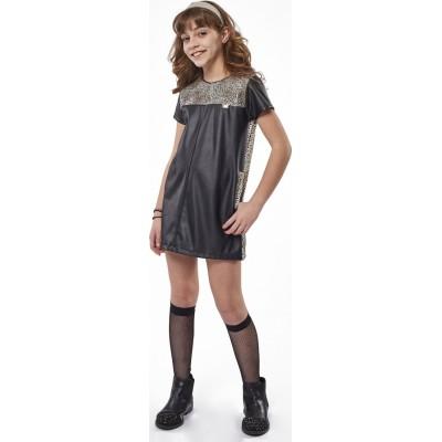 Φόρεμα ΕΒΙΤΑ 215083 μαύρο