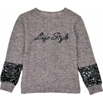 Μπλούζα για κορίτσι ΕΒΙΤΑ 215105 ροζ μελανζέ