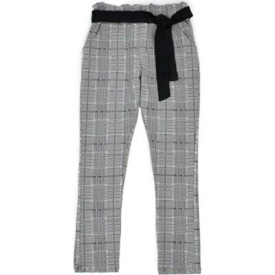 Παντελόνι για κορίτσι ΕΒΙΤΑ καρό γκρί μελανζέ 215068