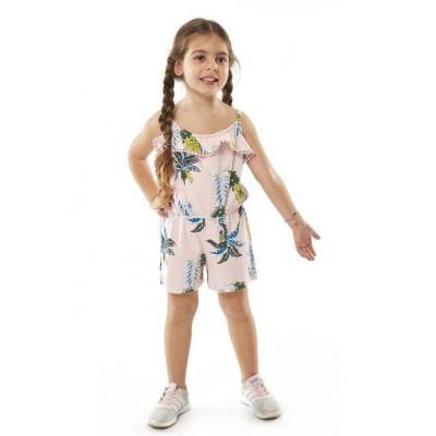 Ολόσωμο μακό σορτς  κορίτσι ΕΒΙΤΑ 214218 ροζ